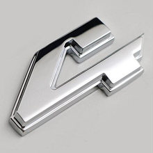 Tailgate 4X4 Emblem Nameplate 55277438AA ABS 3pcs/Set For Dodge Ram Car Chrome Practical Universal Replacement(China)