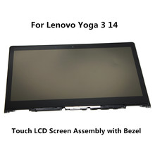 "14 ""FÜR LENOVO YOGA 3 14 Touchscreen LP140WF3-SPL2 LCD Screen 80JH 80JH0025US YOGA3-14"