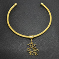 New fashion jewelry tree torques necklace gift for women girl N2030