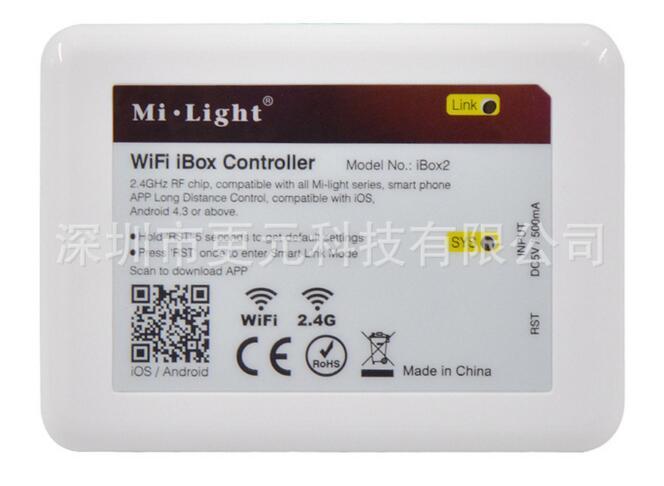 Beleuchtung Zubehör Light Serie Led Glühbirne Lampe Controller Ios Android GüNstige VerkäUfe Schnelle Lieferung Neue Neue 2,4g Wireless Ibox2 Smart Wifi Led-controller Für Alle 2,4g Mi