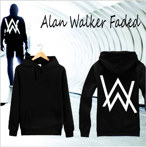 COOL Hiphop Men Hoodies Music DJ Divine Comedy Alan Walker faded Coat the Same Paragraph Sweatshirts Jacket