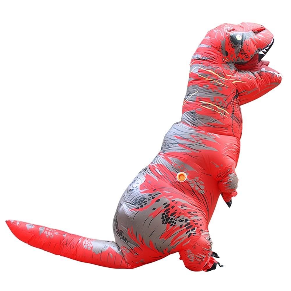 Inflable T-Rex dinosaurio  traje de fiesta juguetes al aire libre juego educativos niños 24