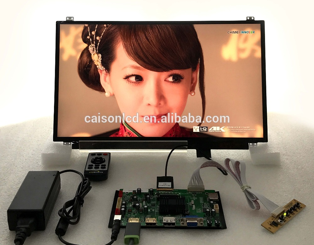 2HDMI+VGA+DP+Audio 4K  board support 17.3 inch lcd panel with 3840*2160 touchstone teacher s edition 4 with audio cd