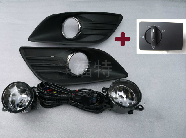Fog Light Lights Set With Bulb And Switch Embly Kits Body Kit For Ford Focus