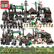 Enlighten Blocks Plastic Educational Blocks Air Weapon Tank Model Assemblage Building Blocks Boys Girls Brick Toys For Children