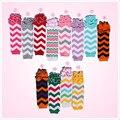Posh Cotton Halloween Chevron Zigzag  Kids Baby Leg Warmers  Ruffle Socks Wholesale/Retail    Free Shipping