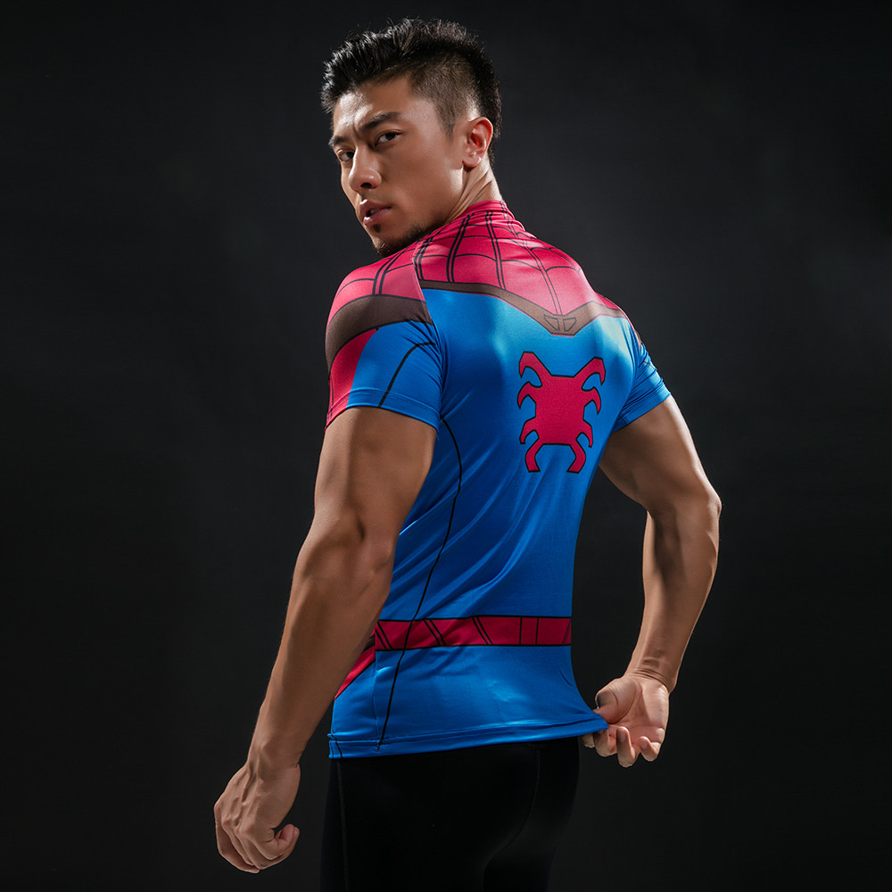 Punisher 3D Printed T-shirts Men Compression Shirts Long Sleeve Cosplay Costume crossfit fitness Clothing Tops Male Black Friday 107