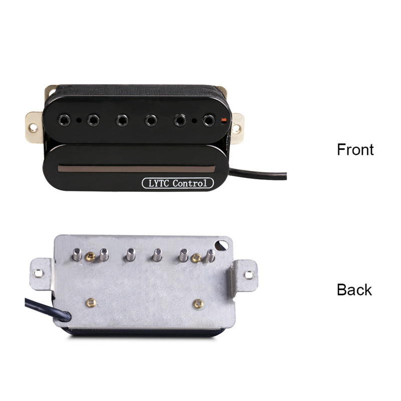 Hochwertige E gitarre Pickup Dual Rail Bridge Humbucker Humbucking ...