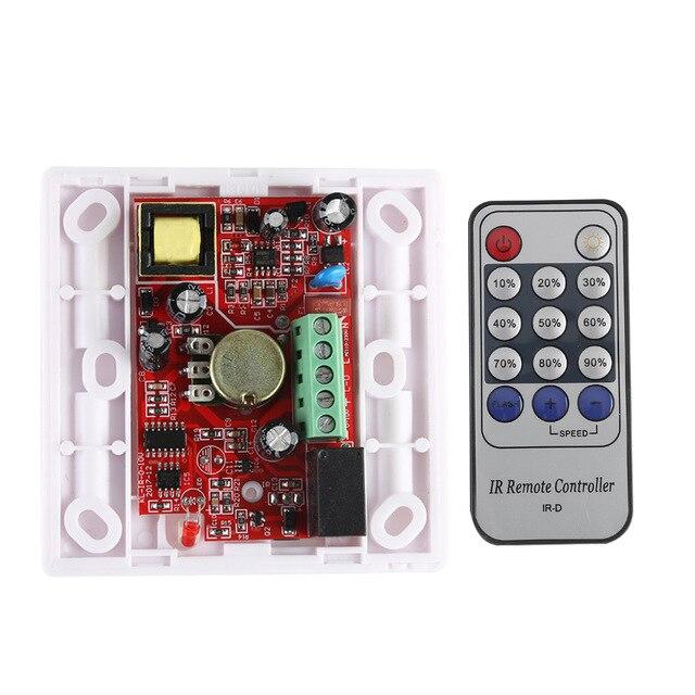 Infrared 14-Key Triac Dimmer 110V 220V Knob PWM 0-10V Triac LED Dimmer Switch for E27 GU10 Dimmable Bulb/Spotlight/ Downlights