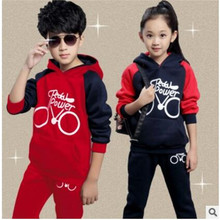 Male child set autumn child sports set 2016 children's clothing spring and autumn sweatshirt twinset child clothes
