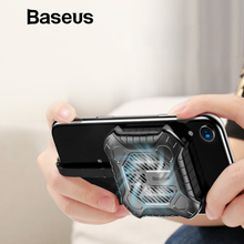 Baseus 3 in 1 Mini Mobile Phone Heat Sink For iPhone X 8 7 6 6S Plus Game Cooler Audio Radiator with Aux Charging Cable Adapter