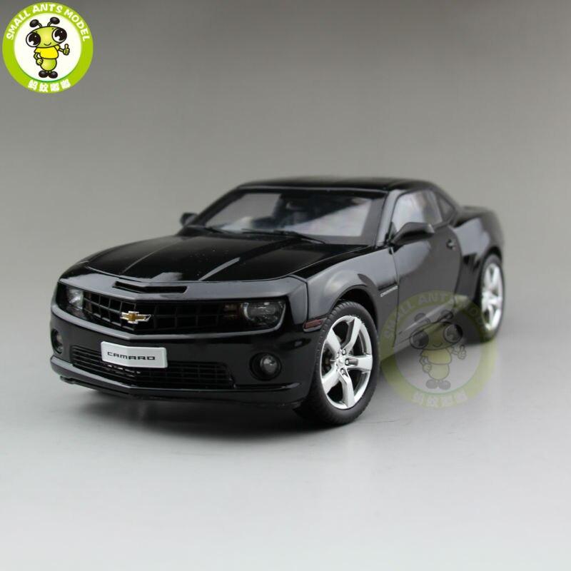 ФОТО 1/18 Chevrolet CAMARO Bumble Bee Diecast Model Car Black Color