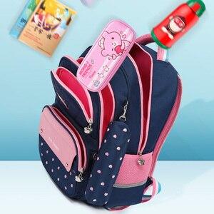 Image 2 - 어린이 학교 배낭 학교 가방 10 대 소녀에 대 한 어린이 배낭 소녀 어린이 학교 가방 정형 외과 다시 Mochila Escolar