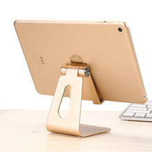 Universal Adjustable Aluminum Mobile Phone Stand Flexible Desk Phone Holder For iPad iPhone Sony HTC Cellphone And Tablet Stand