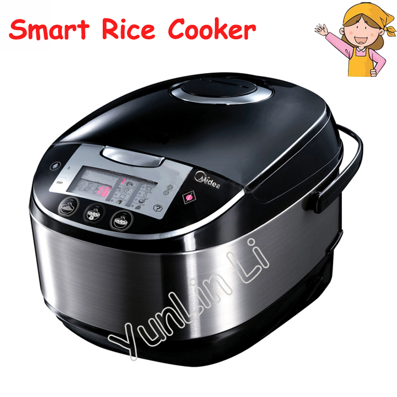 5L Smart Rice Cooker Honeycomb Liner Rice Cooker 770W 220V Microcomputer Type Rice Cooker Suitable for 6-8 People MB-FS5017 rice cooker parts open cap button cfxb30ya6 05