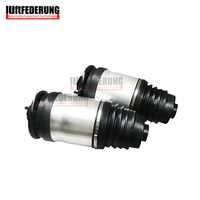 Luftfederung 2pcs Rear Air Shock Air Spring Suspension Air Bag Air Ride Repair Kit Fit Land Rover Discovery 3 LR3 LR4 RKB500250