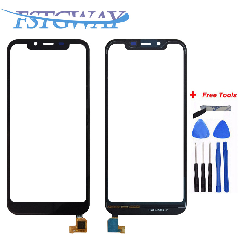 FATGWAY High Quality For Ulefone <font><b>S10</b></font> <font><b>Pro</b></font> Touch Screen Lens Sensor Touch Panel Replacement Mobile Accessories With Tools image