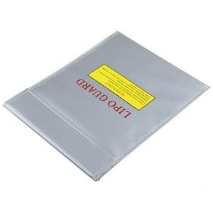 Image 2 - 1 pièces 30x23 cm RC LiPo li po batterie de sécurité ignifuge sac Case de sécurité garde sac de Charge chaud dans le monde entier