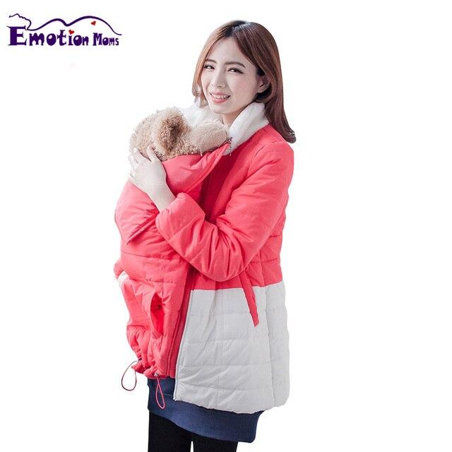MamaLove Зима Материнство Одежда для беременных Пальто кормящих Одежды Для Проведения Для Беременных Женщин кормление Куртки 2 в 1