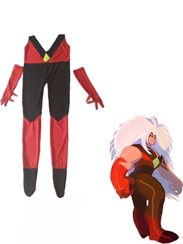 Steven Universe Jasper Costume Lycra Spandex Zentai Catsuits Superhero Female Cosplay Costume for Adults and Kids Custom