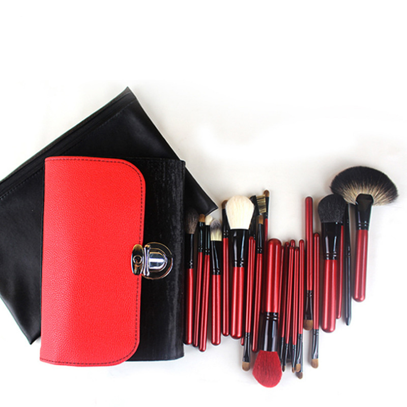 26 Pcs professional makeup brushes beauty Woman's Kabuki Cosmetics Makeup Brush Set tools Foundation Brush pincel de maquiagem 26 pcs professional makeup brushes beauty woman s kabuki cosmetics makeup brush set tools foundation brush pincel de maquiagem