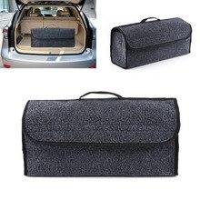 Складной заднем сиденье автомобиля сзади сумка для хранения багажник Организатор Держатель карманная вешалка серый