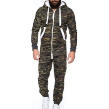 Centuryestar Tmall Quality Mens Camouflage Pajamas Onesie One Piece Hooded Mono Pijama Hombre Combinaison Pyjama for Adults Men