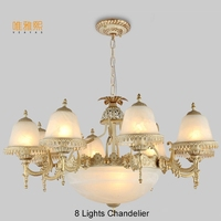 Modern Glod Chandeliers The Lanterns Christmas Fabric Lampshade Chandelier Luxury Indoor Lighting Fixture Chandelier