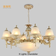hot deal buy modern  glod chandeliers  the lanterns christmas fabric  lampshade chandelier   luxury indoor lighting fixture chandelier