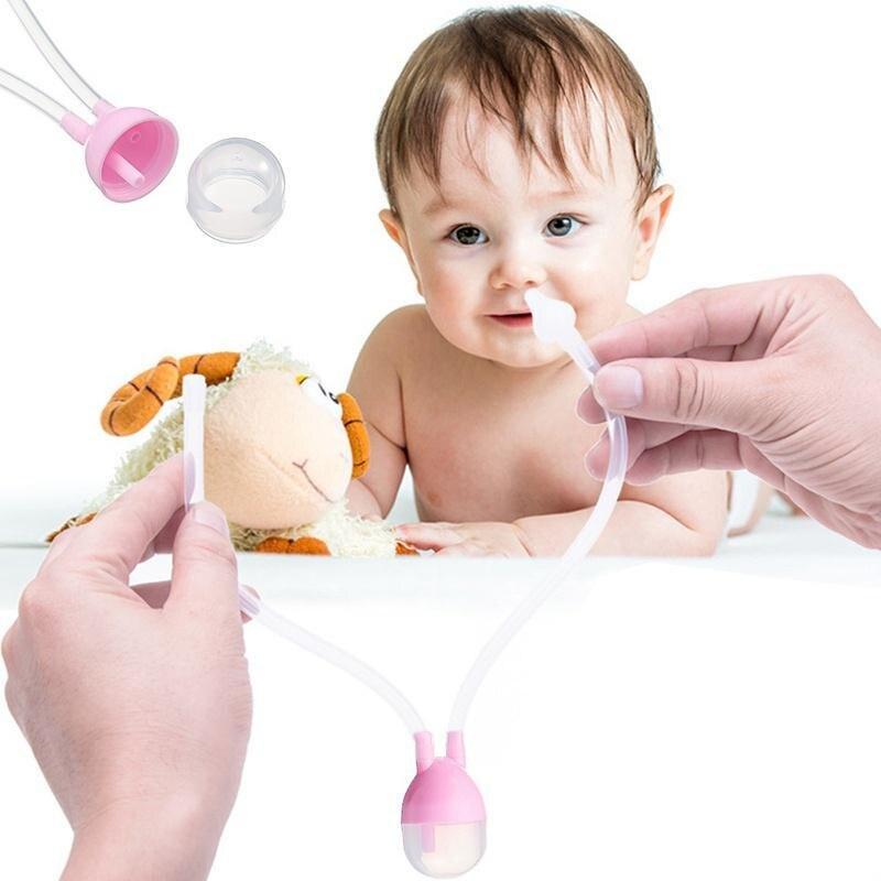 100% QualitäT Nasensauger Baby Nase Reiniger Rotz Nase Waschen Schleim Sinus Spülen Sucker Vakuum Sicherheit Neugeborenen Saug Baby Pflege Geschenk Nase Starke Verpackung