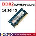 Продвижение 1 ГБ 2 ГБ 4 ГБ PC2-6400 DDR2 667 800 667 мГц 800 мГц PC2-5300 sodimm sdram Оперативной Памяти Memoria Для Ноутбука Notebook
