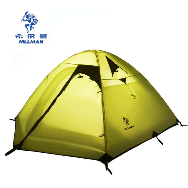 Hillman outdoor tent 3-4 person double layer aluminum pole rainproof wind proof family leisure  sc 1 st  AliExpress.com & Hillman outdoor tent 3 4 person double layer aluminum pole ...