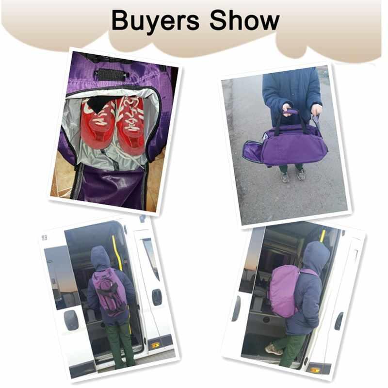 防水フィットネススポーツバッグ男性女性屋外フィットネスバッグポータブルジムハンドバッグ超軽量ヨガバッグ屋外ジムスポーツバックパック