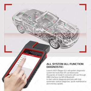 Image 2 - Launch X431 Diagun V Full System Diagnotist Tool 2 years Free Update X 431 Diagun IV Code Scanner better than Diagun iii