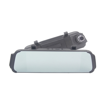 "7"" inch Touch Screen dual lens car camera rearview mirror auto dvrs cars dvr registrator dash cam full HD camcorder 5"