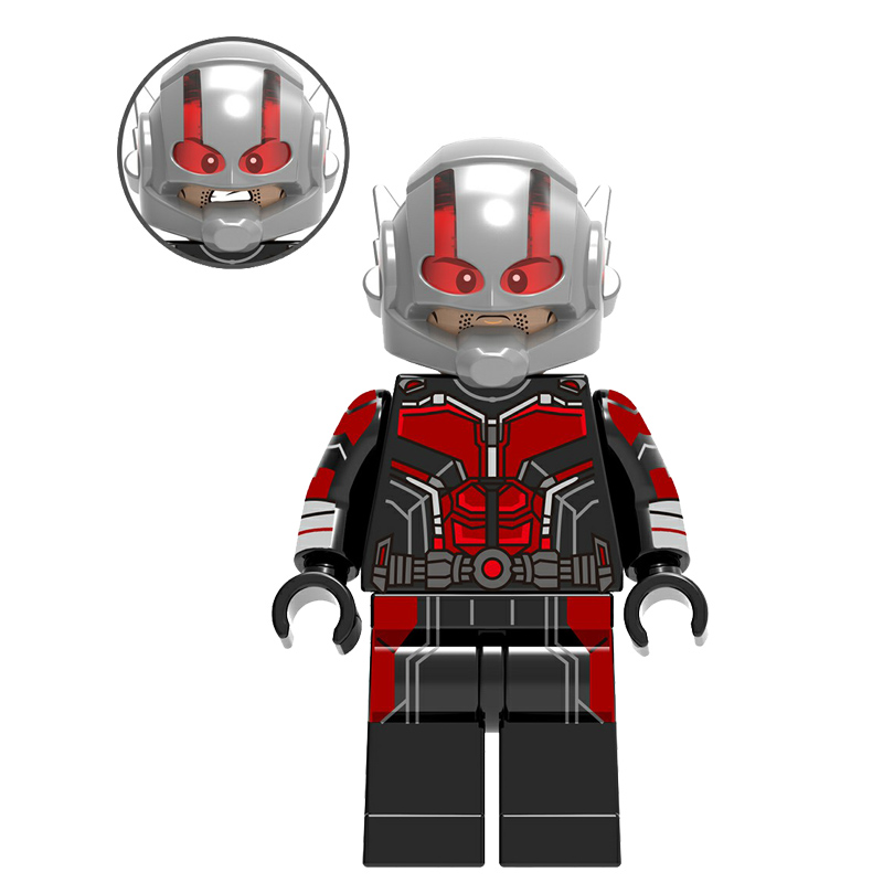 Action Figure Compatible with LegoINGlys Super Hero Avengers 3 Marvel Ant Man Spiderman Hulk Iron Man Black Panther Bricks Dolls цена