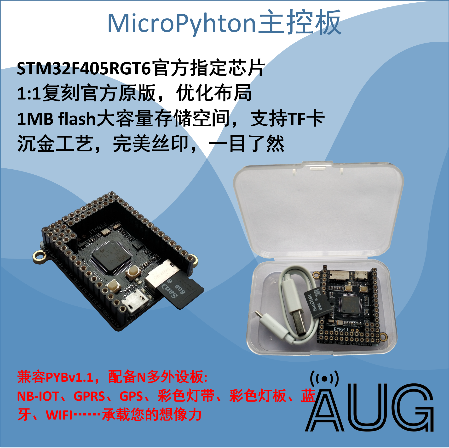 US $25 0 |MicroPython Development Board PYBoardv1 1 v1 0 STM32F405 Pyhton3  OpenMV-in Air Conditioner Parts from Home Appliances on Aliexpress com |