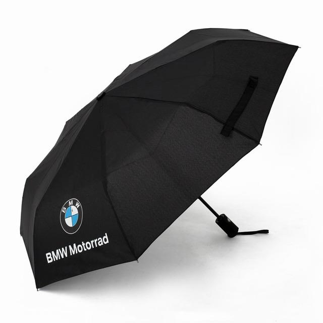 BMW Motorrad Logo Black Umbrella