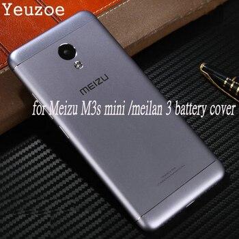 Cubierta de batería trasera oficial para Meizu M3s mini funda de Metal Original para Meilan 3 s Meilan3s piezas de repuesto 5,0
