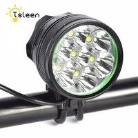 TSLEEN 7 LED Headlight 8400Lumens 7pcs Cree XM L T6 LED Bicycle Light Cycling Bike Light