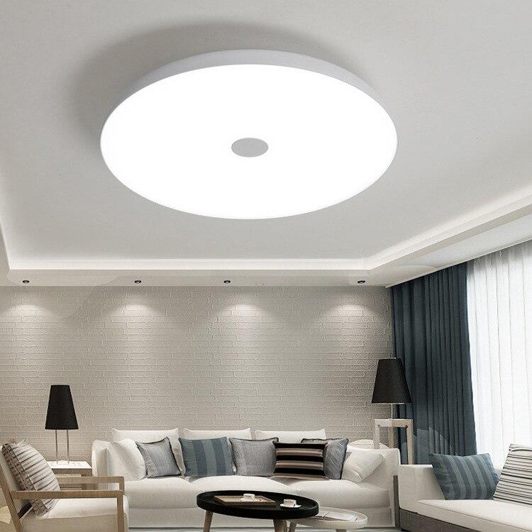 LED 36 W/48 W Smart Voice APP Muziek Lichten Dimbare Plafond Verlichting Afstandsbediening Plafond Verlichting Slaapkamer Verlichting - 6