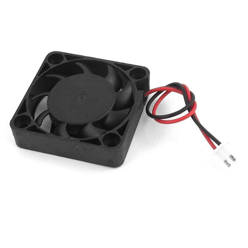 CARPRIE 2 шт. 12 в мини-компьютер кулер вентилятор-маленький 40 мм x 10 мм DC Бесщеточный вентилятор охлаждения 2-контактный Mar30