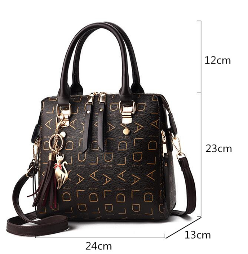 HTB1LgaralCw3KVjSZR0q6zcUpXaI - New Tassel Designers Fashion Women PU Leather Bag Large Capacity Shoulder Bags Casual Tote Simple Top-handle HandBags