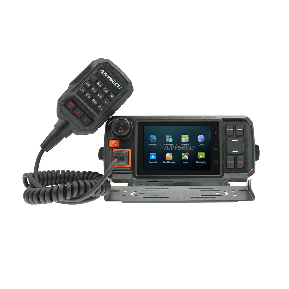 Android Network Transceiver GPS Walkie Talkie SOS Radios Bluetooth PTT Car Radio 4G Radio With SIM Card Radio