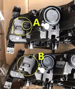 Image 3 - Rhd lhd geely emgrand ec7 farol, 2 pçs 2014 2015 2016 2017, acessórios do carro, emgrand ec7 luz de nevoeiro, ec8, emgrand ec7 lâmpada frontal
