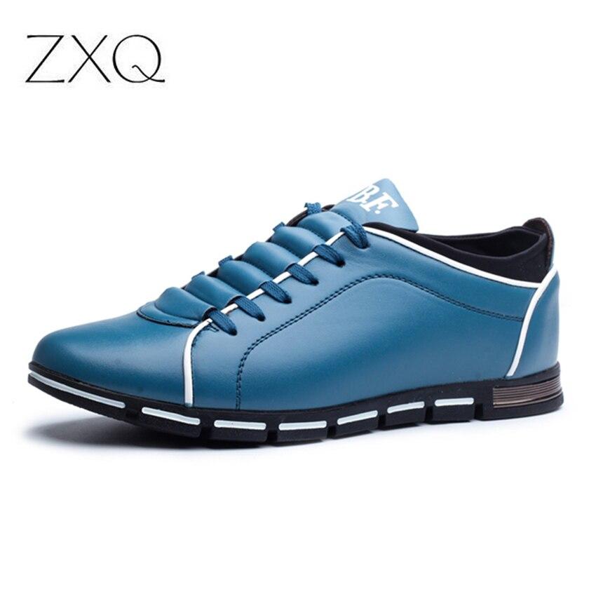 Plus Size 38 48 Uomini scarpe Casual Moda Scarpe Comode Scarpe di Cuoio Per  Gli Uomini Scarpe Da uomo Estate Dropshipping in Plus Size 38-48 Uomini  scarpe ... abb308c2cb8