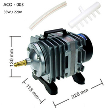 ACO-003 electromagnetic aquarium air pump 220V 35W fish tank air pumps akvaryum pump hydroponics pompasi aquarium oxygen airpump air pump air compressor 35w 40l electromagnetic air pump for laser cutting machine
