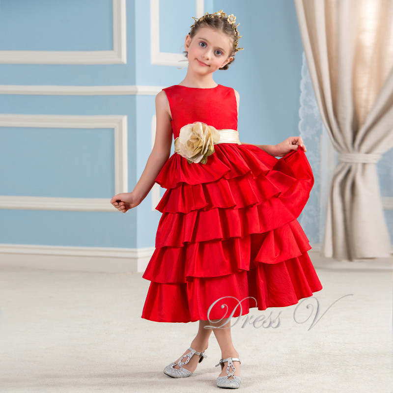 taffeta kids dress