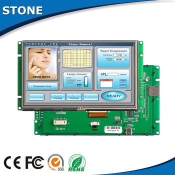 4.3 Inch HMI TFT LCD Display with Touch Panel + Controller Board + Software tp04g bl c delta text panel hmi stn lcd single color 4 lines display model new in box