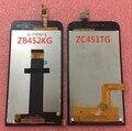 """Tela lcd + painel de toque digitador para 4.5 """"asus zenfone go (mini) 4.5 zc451tg ou zb452kg frete grátis"""